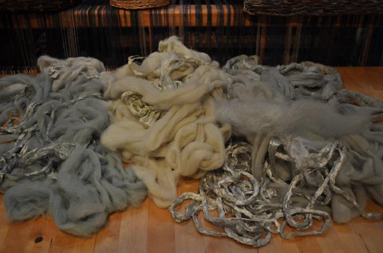 4indigo dyed fibre
